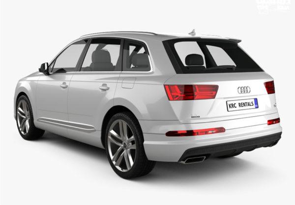 Audi Q7 Back